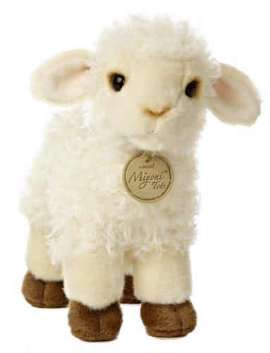 Aurora World Miyoni Baby Lamb Plush, -