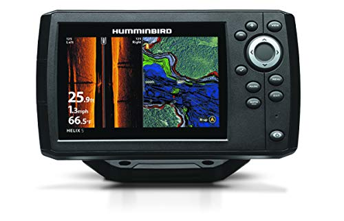Humminbird 410230-1 Helix 5 Fish Finder (Chirp, SI, GPS, G2)