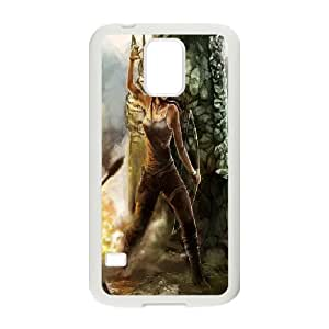 Custom Case Tomb Raider Lara for Samsung Galaxy S5 C4V3738250