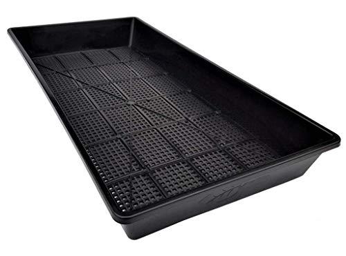 Mesh Bottom 1020 Trays - 5 Pack Extra Strength - for Microgreens, Soil Blocks, Wheatgrass, Hydroponic and Fodder Systems