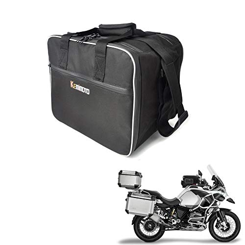 Pannier Inner Bag - KEMIMOTO Fits BMW R1200GS Bag Pannier Liner Top Box Inner Bag Panniers Saddlebag Luggage Case ADV Motorcycle Tail Bag