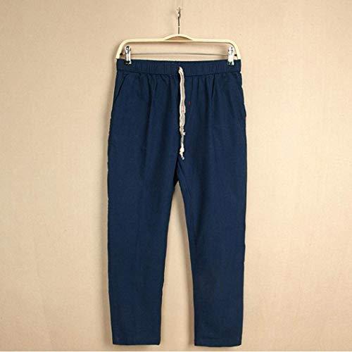 4 Abbigliamento Casual Traspiranti Lunga Marineblau Gamba Lannister Festivo Uomo Pantaloncini 3 E Pantaloni Da Con nHxnqAw0C