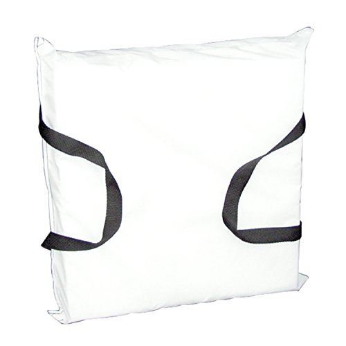 (Onyx Cushion-Throw White Cloth)