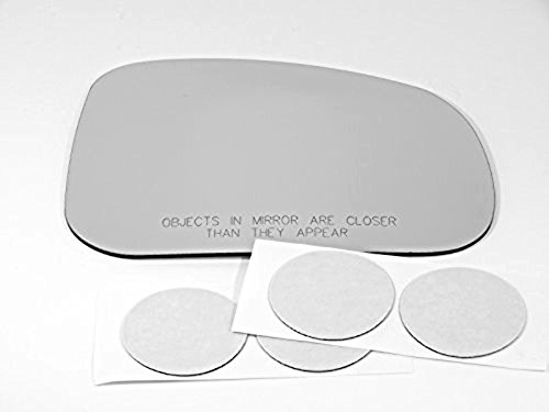 Pontiac Grand Mirror Glass Prix (04-05 Pont Grand Prix Right Passenger Convex Mirror Glass Lens w/Adhesive USA 1st Design 2005 models)