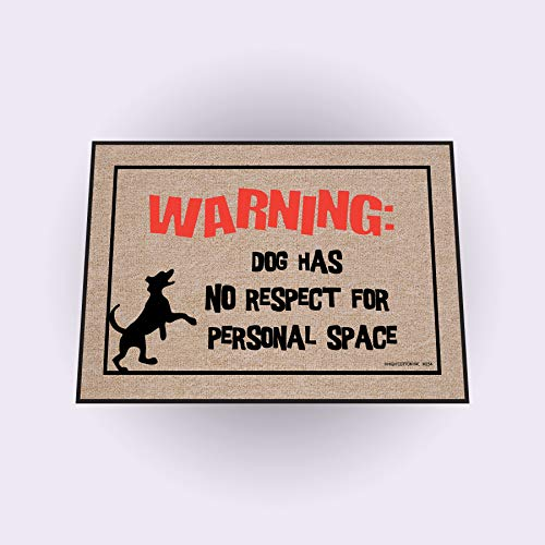 High Cotton Dog Personal Space - Cotton Door Mat High