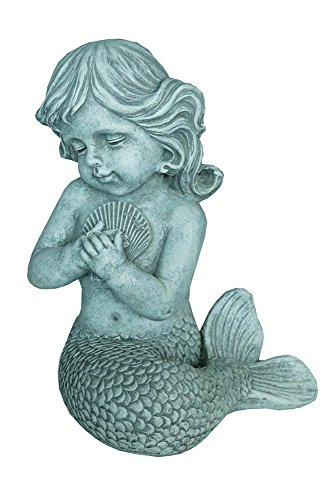 Hi-Line Gift Ltd Mermaid Kneeling with Shell Statue Review