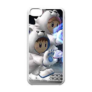 iPhone 5c Cell Phone Case White Super Smash Bros Ice Climbers Lfbhs