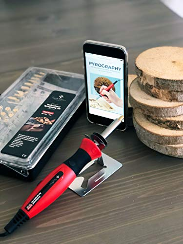 Wood Burning Kit + Free Beginners Guide, Best Pyrography
