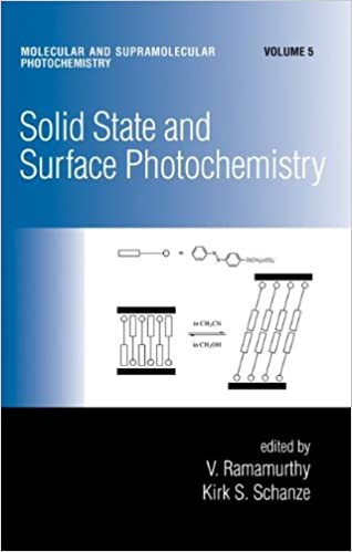 Solid State and Surface Photochemistry (Molecular and Supramolecular Photochemistry)