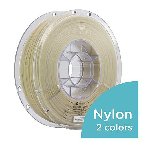 (Polymaker PolyMide CoPA 3D Printer Filament, Nylon Filament, Natural Color, 2.85 mm Filament, 750g)