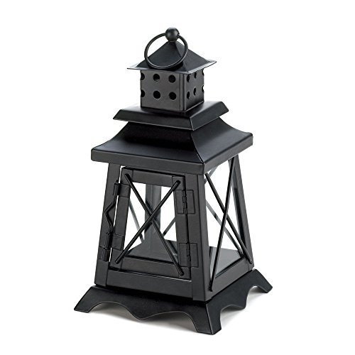 NEW Iron & Glass Watch Tower Candle Lantern Decorative Home and Garden (Watch Tower Candle Lantern)