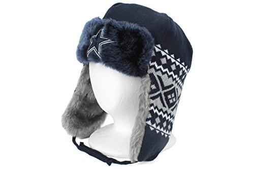 6e896bab8334e New Era Men s Dallas Cowboys Team Trapper Knit Cap - Buy Online in UAE.