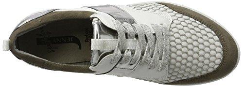 weiss Silber Jenny Sneaker Weiß Zamora Damen Alpaca wqx74OHp