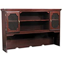 DMI FURNITURE, INC. Governors Series Laminate Hutch, 66w x 13d x 46h, Mahogany, Sold as 1 Each