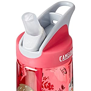 CamelBak Eddy Kids Water Bottle, Hedgehogs, .4 L