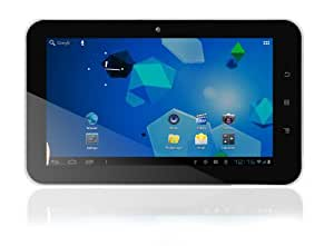 Latte ICE TAB LV70 7-Inch capacitive touch screen tablet powered by Android 4.0 (Black/White)