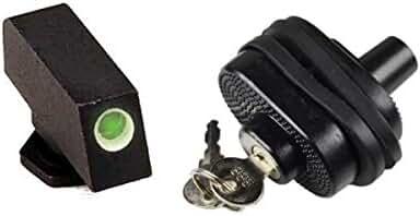 AmeriGlo GL-112-320 Glock Classic Tritium Front Sight Green Tritium White Outline FRONT .320