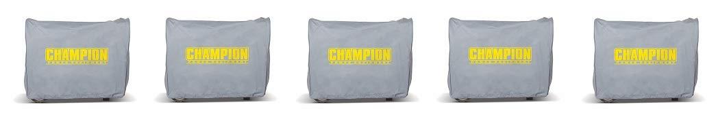 Champion Weather-Resistant Storage Cover for 3100-Watt or Higher Inverter Generators (5)