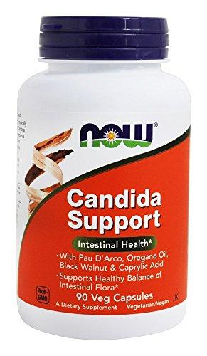 NOW CANDIDA Vegetarian Capsules Quantity product image