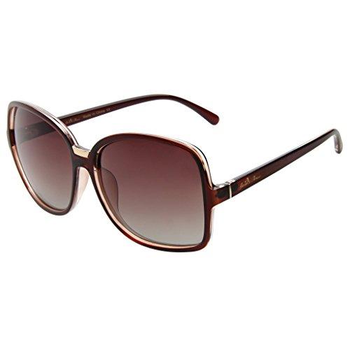 Jardin d'amour Brand Designer Oversized Sunglasses 2017 for Women Men Polarized Fashion JS7106 - Fall Sunglasses 2017