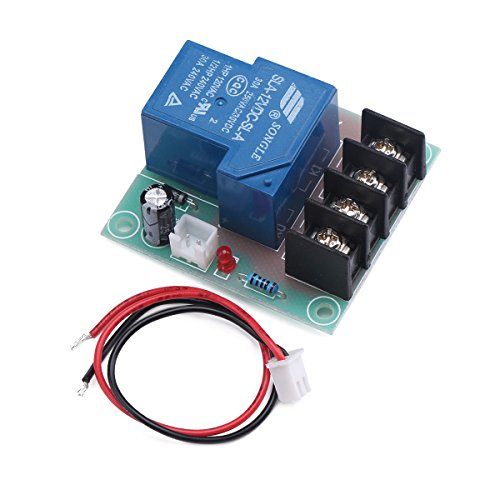 30A Power Switch Board, DROK DC 12V Portable Electric Current Amp Transfer Board Relay Switch High Current Control Module for Cooler Heater Refit Water Heater Control