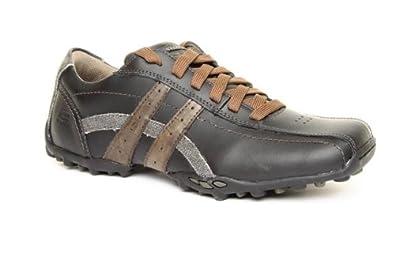 809088188c0b Mens Skechers Talus Burk Black Size 12  Amazon.co.uk  Shoes   Bags