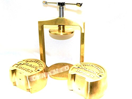 PREMIUM DENTAL LABORATORY LAB SPRING PRESS COMPRESS W/TWO BRASS DENTURE FLASK ( CYNAMED ) by CYNAMED (Image #9)