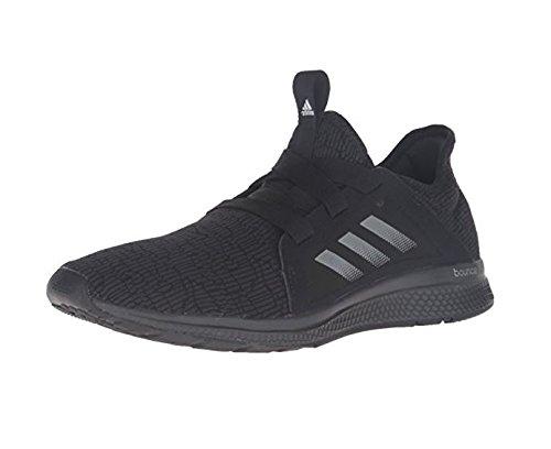 adidas Originals Women's Edge Lux W Running Shoe, Black/White/DGH Solid Grey, 7.5 M US - Edge Overlays