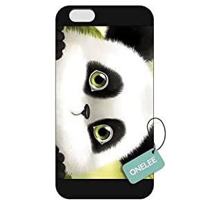 Onelee(TM) - Customized The Cute Panda Apple iPhone 6 Plus 5.5 Hard Plastic case cover