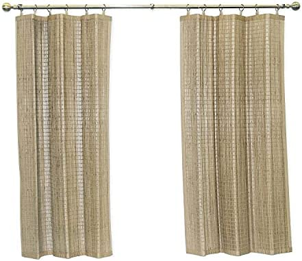 Editors' Choice: Bamboo Ring Top Curtain Window Panel