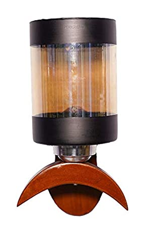 Periglow Wooden Wall Lights With Led Light Vlt 12 9528 Base Colour Brown Amazon In Home Kitchen
