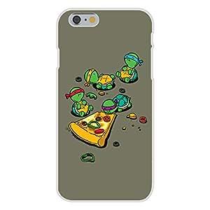 "Apple iPhone 6 Custom Case White Plastic Snap On - ""Pizza Lover"