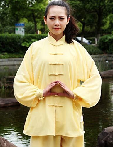 Zhhlinyuan Gray Kungfu Artes Verano Alto Marciales Seda De Algodón Otoño Ropa Y Rendimiento Mujer Hombre Uniformes Primavera Casual xgTxR