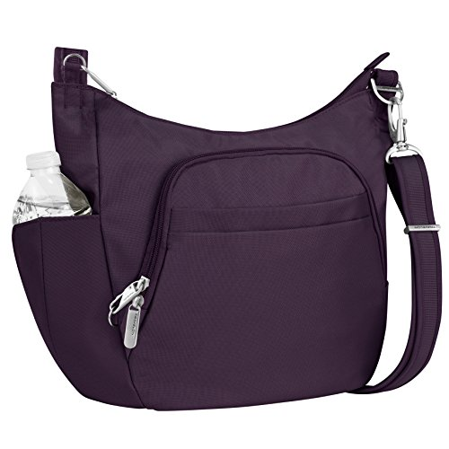 Travelon Anti-Theft Cross-Body Bucket Bag, -
