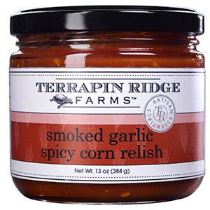 - Terrapin Ridge Farms Smoky Garlic Spicy Corn Relish/Dip 13 OZ (Pack of 1)