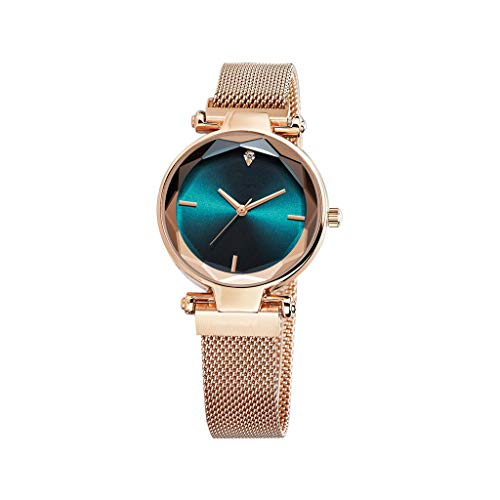 IslandseEurope and The United States End Fashion Ladies Watch Steel Strap Watch (G) ()