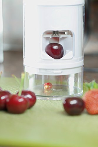Gain Prep-Eez All in One Cherry Pitter and Strawberry Slicer dispense