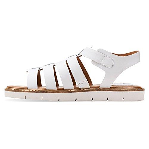 Pelle Sandal Toe Clarks In Gladiator Lydie Kona Open qzpBX
