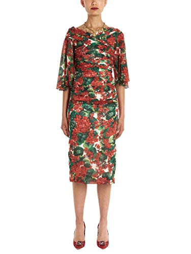 Dolce e Gabbana Luxury Fashion Womens F69X8TFSAYBHAV03 Multicolor Dress | Fall Winter 19