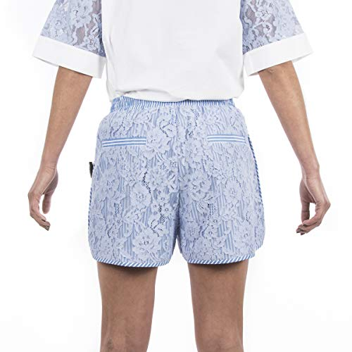 Azzurro M Oxford In Short Pizzo Blanche Isabelle 1qPSYAS