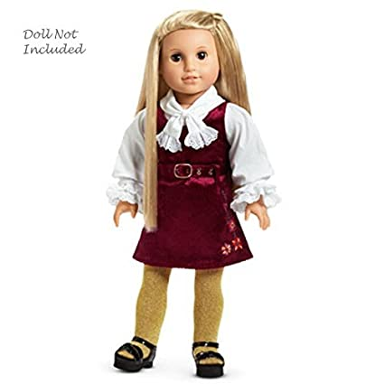 American Girl Lovely Beautiful Brand New In Box American Girl Julie Calico Doll Dress Shoes Clothes
