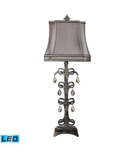 Durand Table Lamp (Table Lamps 1 Light With Durand Finish Composite Material Medium Base Bulb Type 37 inch 13.5 Watts)