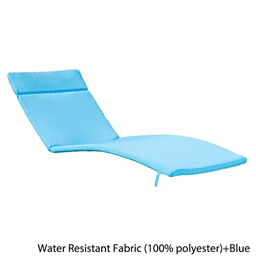 Christopher Knight Home 344626 Salem Chaise Lounge Cushion, Blue