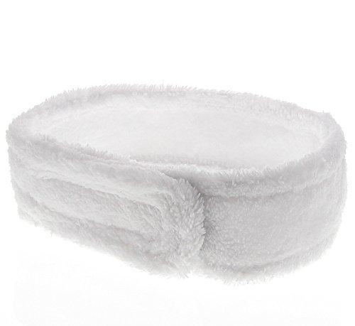 Klettverschluss Spa Baden Band Kosmetik Kopfband Haarband Schweissband Rosa hit
