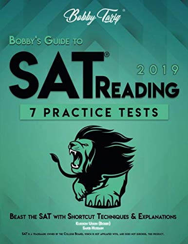 Bobby's Guide to SAT Reading: 7 Practice Tests - Shortcut Techniques & Explanations | BOBBY TARIQ]()