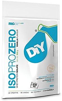 DIY Iso Pro Zero 100 Proteína Aislada De Suero De Leche 908g ...