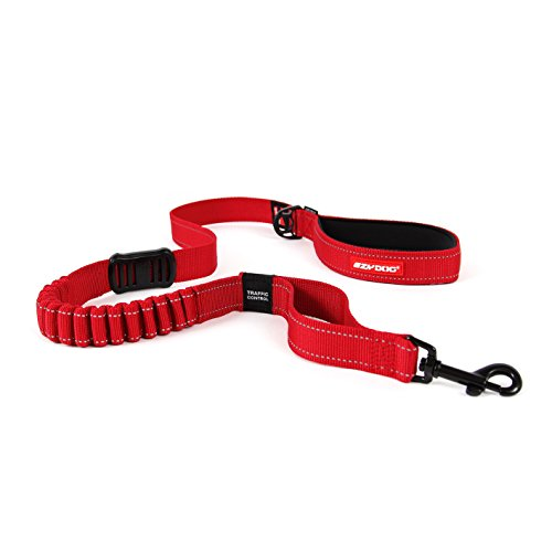 (EzyDog ZERO SHOCK Leash - Best Shock Absorbing Dog Leash, Control & Training Lead (48