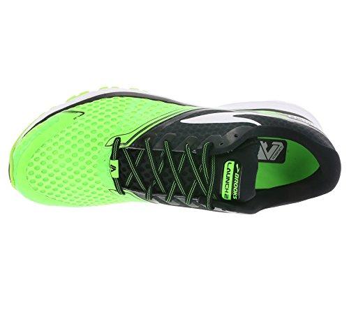 BrooksLaunch 2 - Zapatillas de Running Hombre - vert fluo / noir
