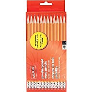 Staples Pre Sharpened #2 Yellow Pencils, 4 Dozen