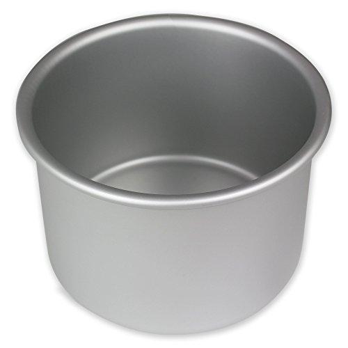 PME RND044 Round Seamless Professional Aluminum Baking Pan,